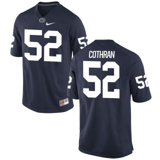 Men's  Game Navy Penn State Nittany Lions Alumni Jersey | Curtis Cothran